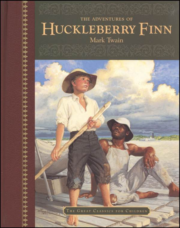 the lies in the novel thee adventures of huckleberry finn by mark twain The adventures of huckleberry finn by mark twain  huckleberry finn, inspired by a prequel (the adventures of  this great novel remains.