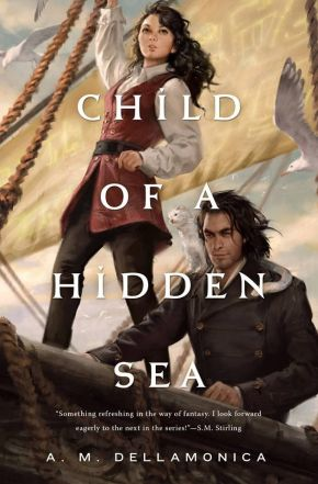 Review of Child of a Hidden Sea by A.M.Dellamonica