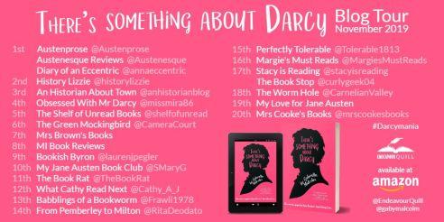 Darcy Blog Tour Schedule